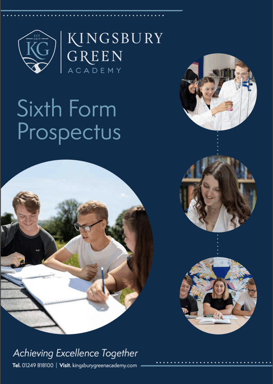 Kingsbury Green Academy 6th Form Prospectus